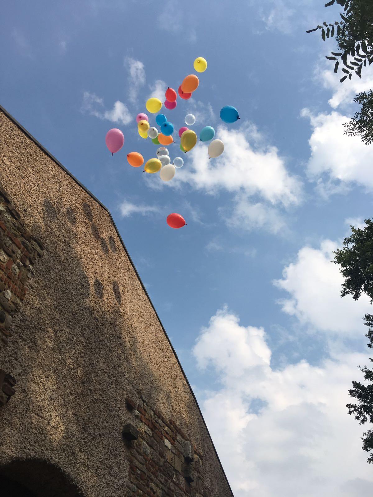 Lancio in cielo di palloncini: ai matrimoni, eventi, anniversari